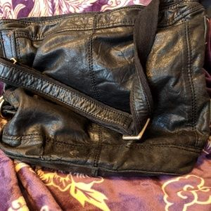 Lucky brand lamb leather bag